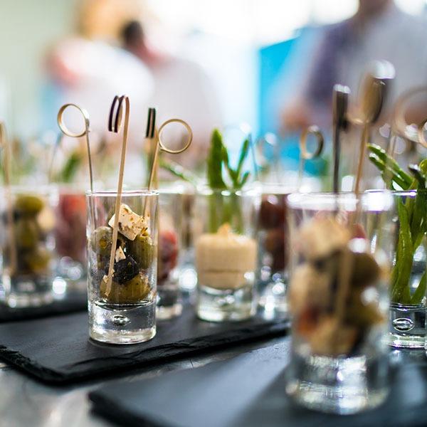 Luxe tafelgarnituur Relatie Catering